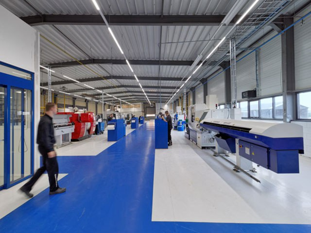 Witec's manufacturing facility in Stadskanaal, the Netherlands