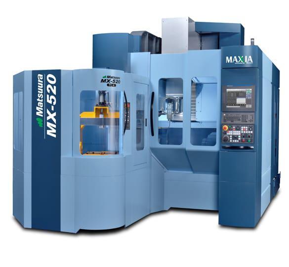 Matsuura MX520 freesmachine metaaltechniek