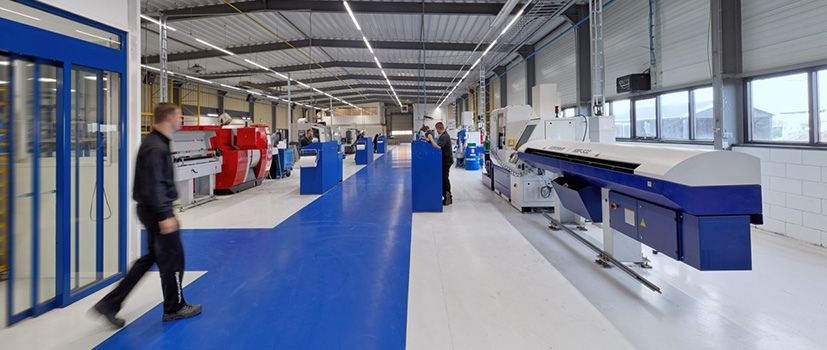 Witec manufacturing facility in Stadskanaal